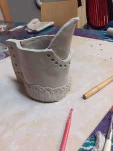 Clay and pottery